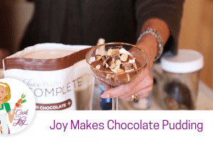 Silky Smooth Pure Chocolate Pudding