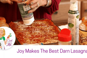 The Best Darn Lasagna Ever (Vegan & Gluten Free)